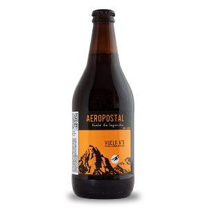 cerveza artesanal Aeropostal Vuelo 5 Amber