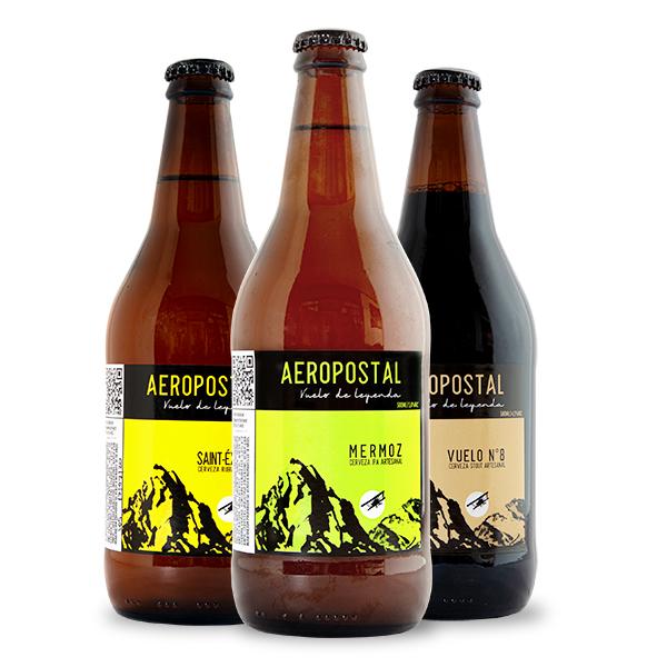 trilogia Vuelos cerveza Aeropostal