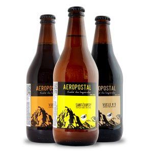 trilogia-saint-exupery cerveza aeropostal