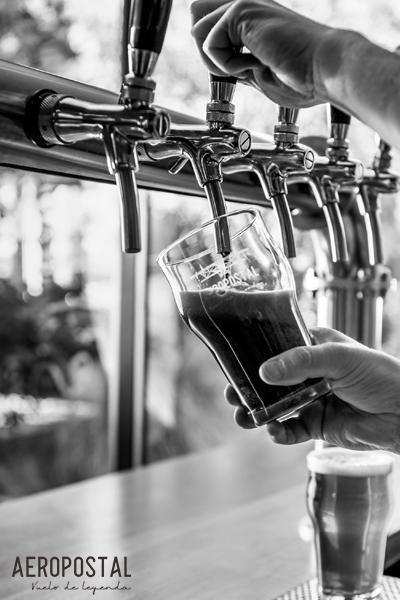 calidad cerveza artesanal mendoza aeropostal